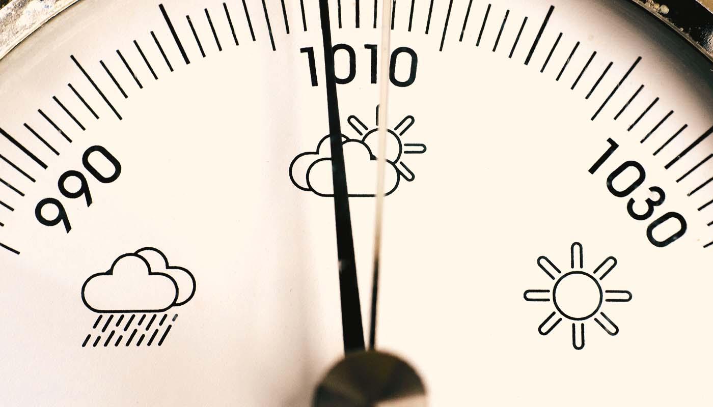 Bild von einem Barometer